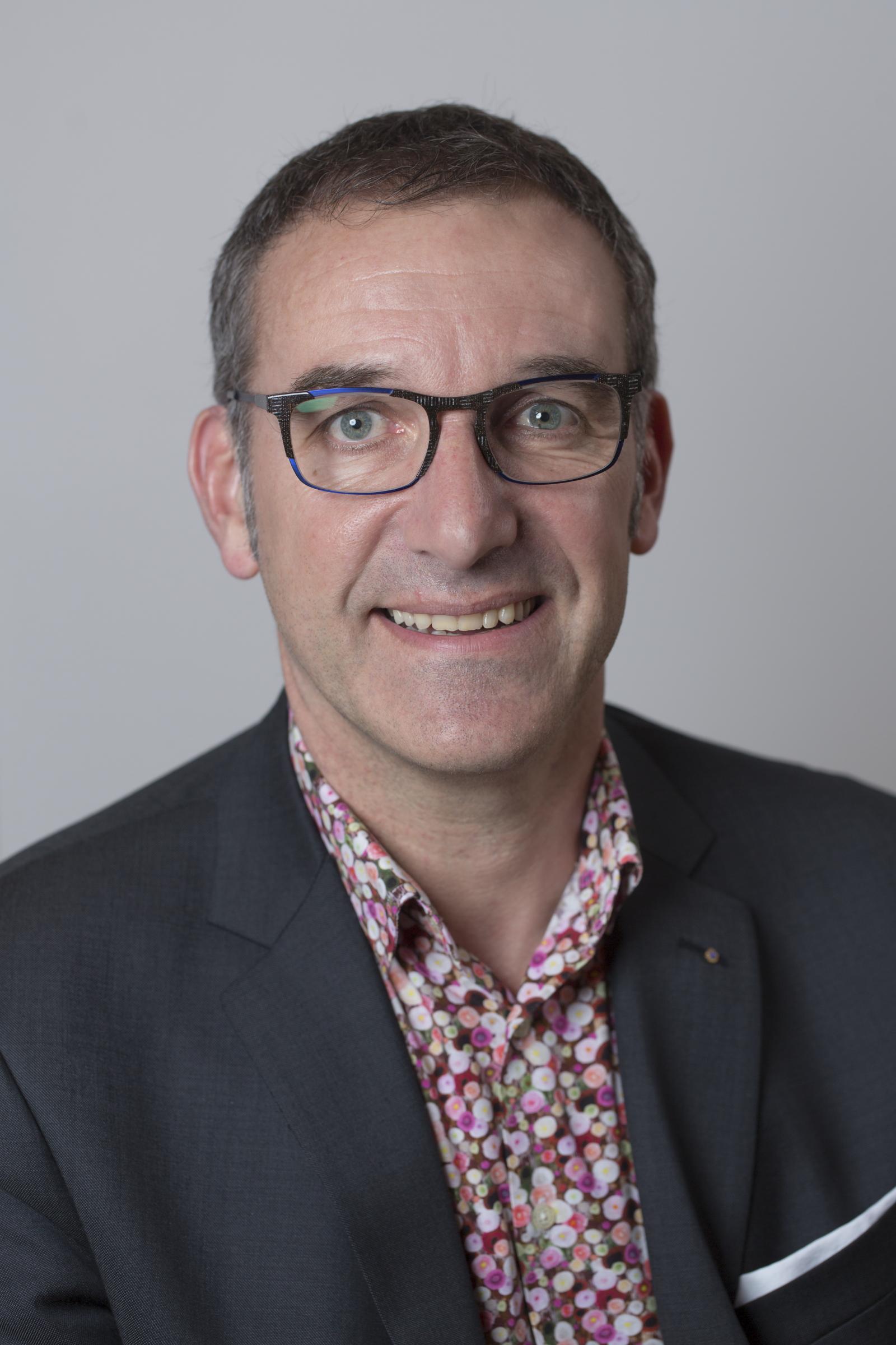 Jean-Charles PIED, Président adjoint, Trésorier