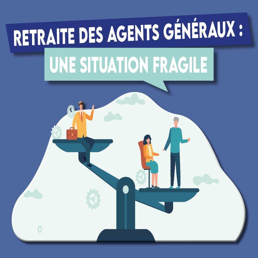 La retraite des agents généraux : une situation fragile