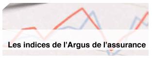 Les indices de l'ARGUS de l'Assurance