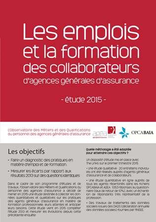 Etude sur la formation des collaborateurs d'agence
