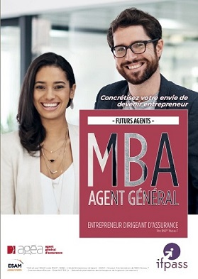 Je consulte la plaquette du MBA Agent Général d'Assurance